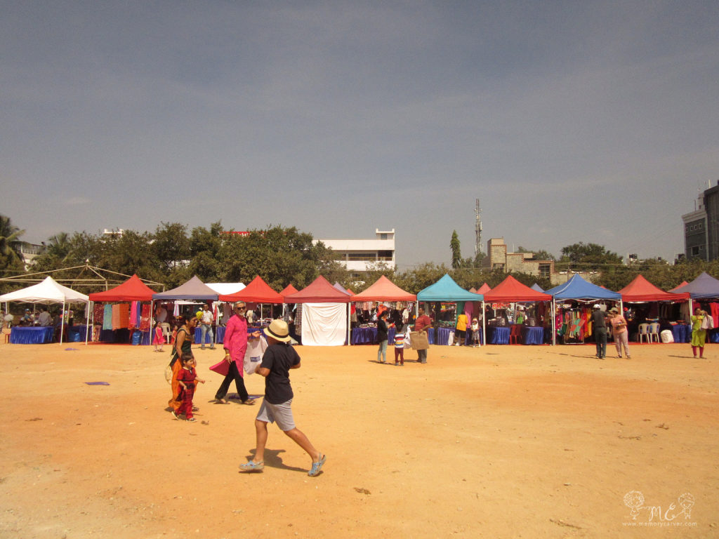 kite festival flea market full view