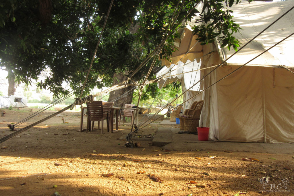 Tutti Hampi Tents and cafe - hampi road trip