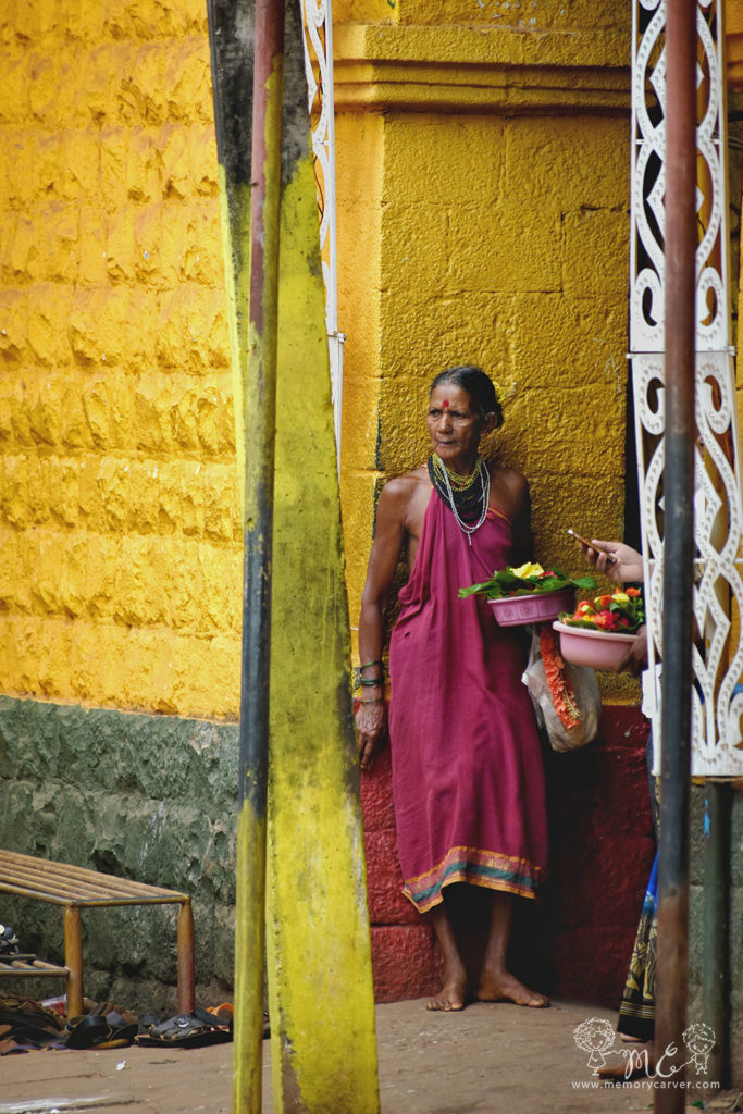 Halakki Lady at Gokarna
