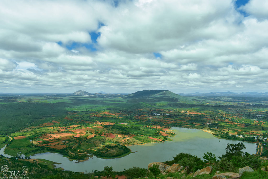 Lake that looks like south american continent, bangalore